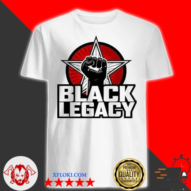Black legacy shirt