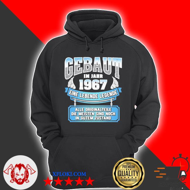 54 geburtstag geschenk lustig gebaut I'm jahr 1967 langarm new 2021 s hoodie
