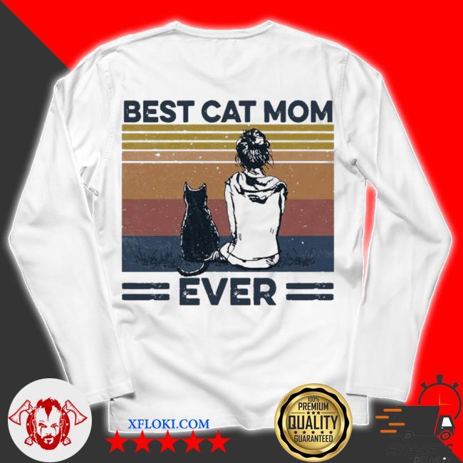 Best cat mom ever new 2021 s unisex longsleeve