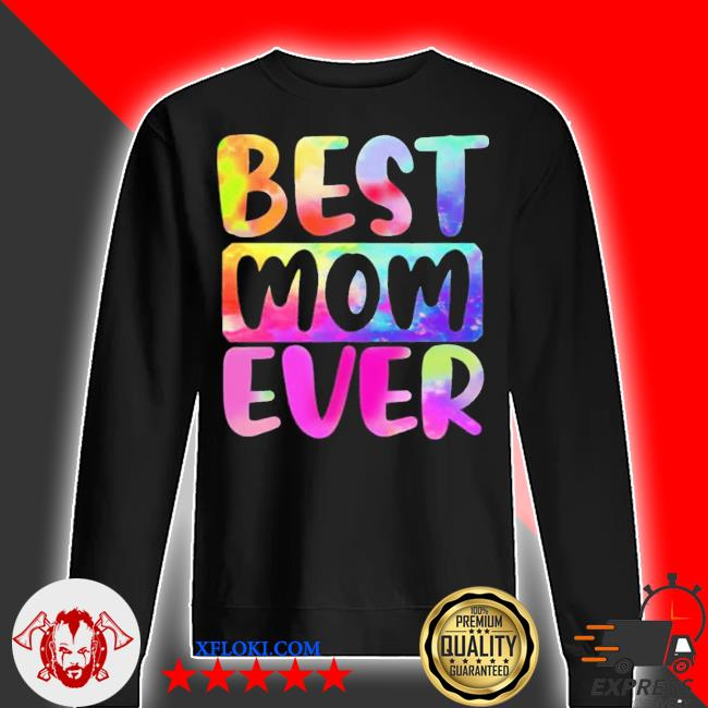 Best mom ever color water mothers day new 2021 s sweater