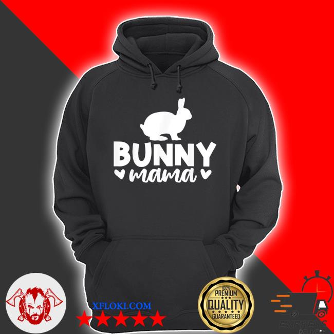 Bunny mama mother's day new 2021 s hoodie