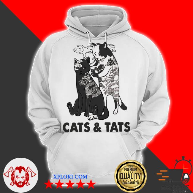 Cats and tats tattoo new 2021 s hoodie