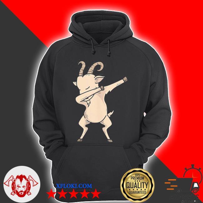 Cool dabbing goat hip hop dancing animal pun new 2021 s hoodie