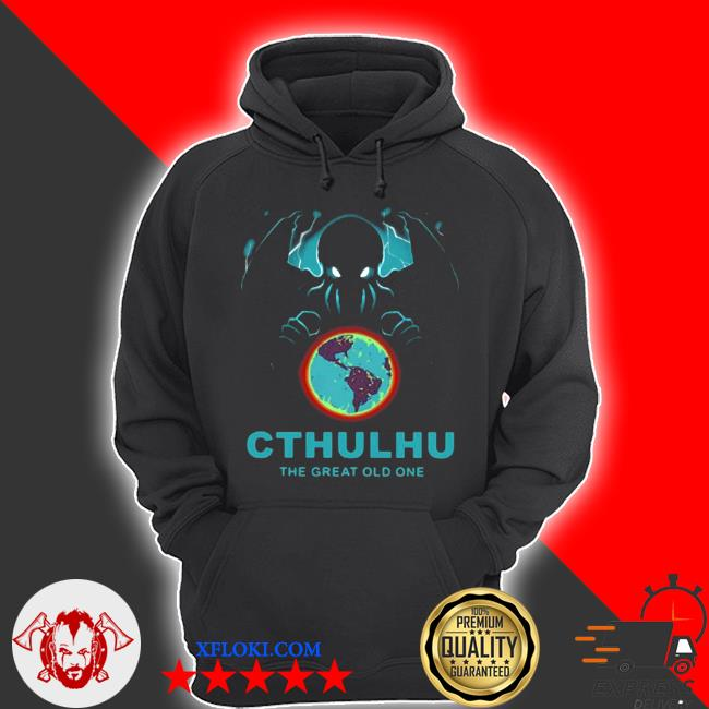 Cthulhu the great old one s hoodie