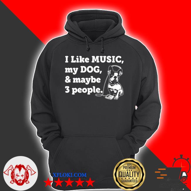 Dog and music lover 2021 s hoodie