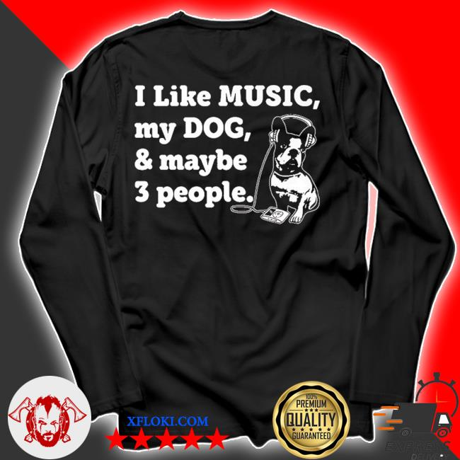 Dog and music lover 2021 s longsleeve