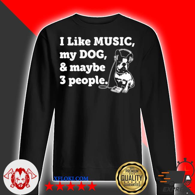 Dog and music lover 2021 s sweater
