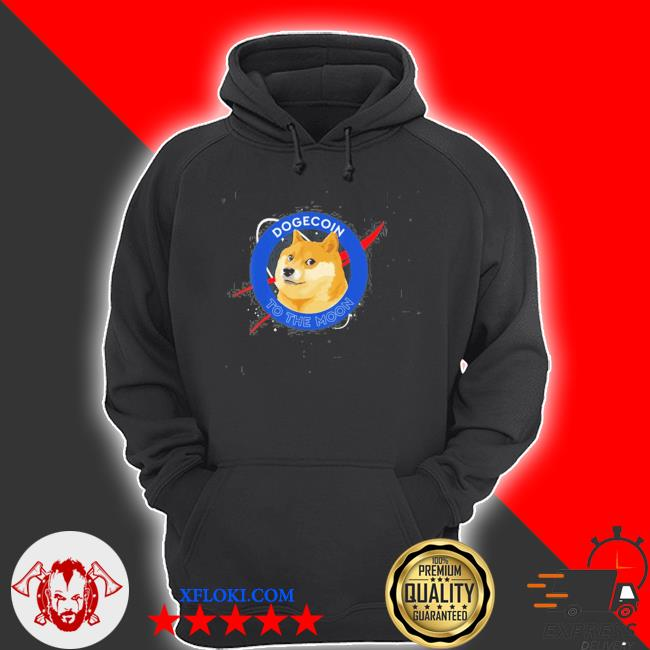 Dogecoin to the moon funny crypto meme new 2021 s hoodie