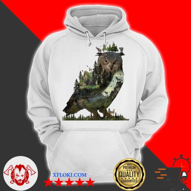 Forest owl 2021 new 2021 s hoodie