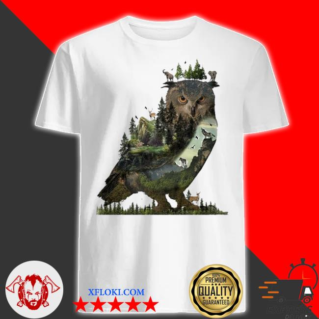 Forest owl 2021 new 2021 shirt