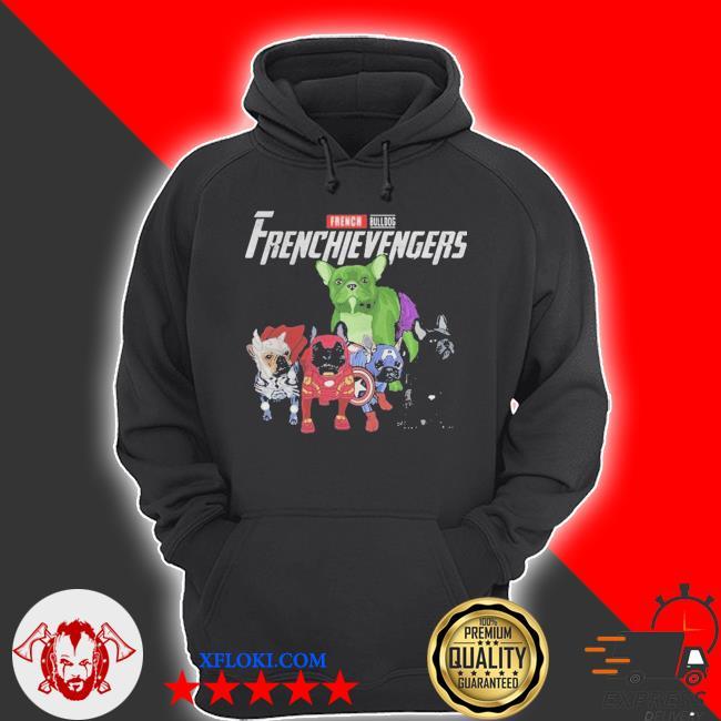 French Bulldog frenchievenger s hoodie