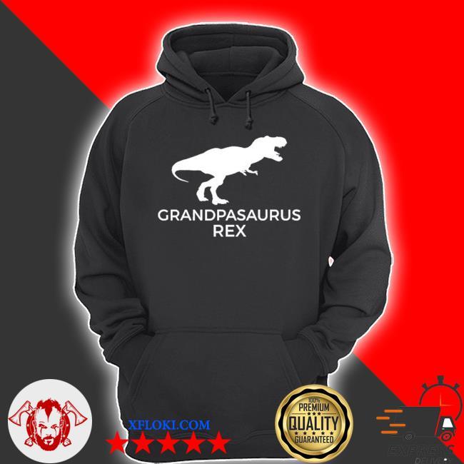Grandpasaurus rex funny grandpa dinosaur gift s hoodie