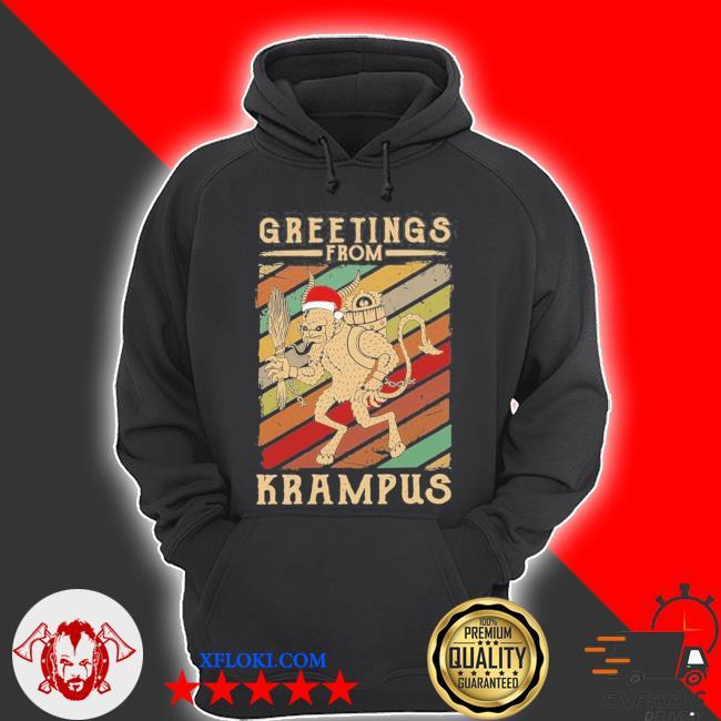 Greetings from krampus new 2021 s hoodie