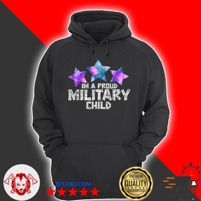 I'm a military kid month of the military child army soldier s hoodie
