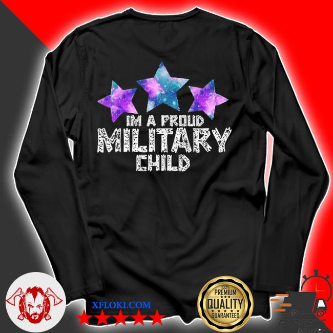 I'm a military kid month of the military child army soldier s longsleeve