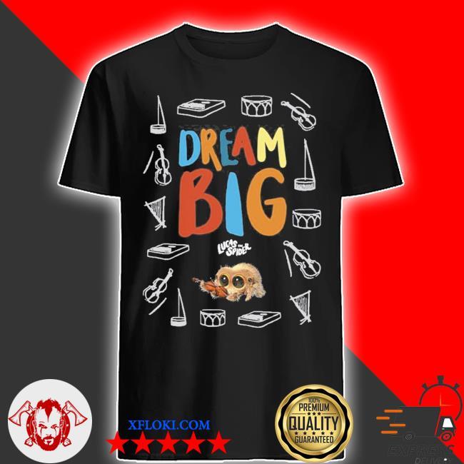 Lucas new 2021 the spider dream big colour shirt