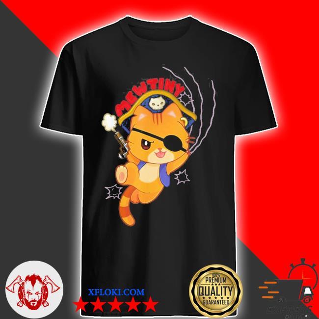 Mutiny a pirate cat mutiny new 2021 shirt