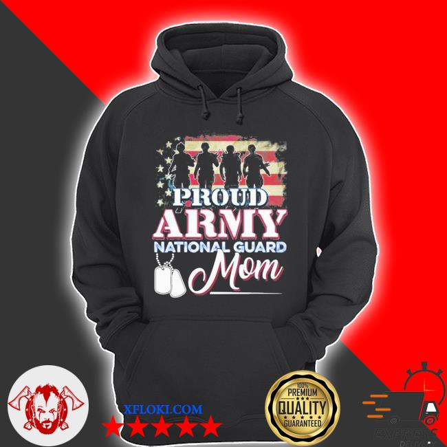 National guard mom proud army national guard new 2021 s hoodie