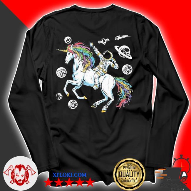 Outer space cosmonaut fantasy animal unicorn gift astronaut new 2021 s longsleeve