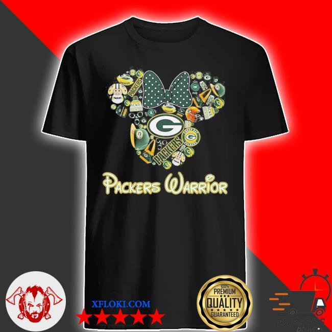Packers warrior new 2021 shirt