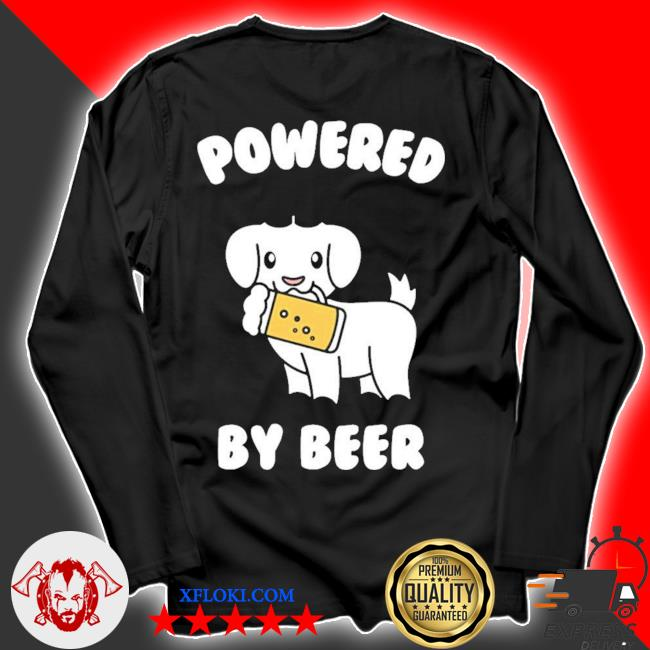 Powered by beer goat pet new 2021 s longsleeve