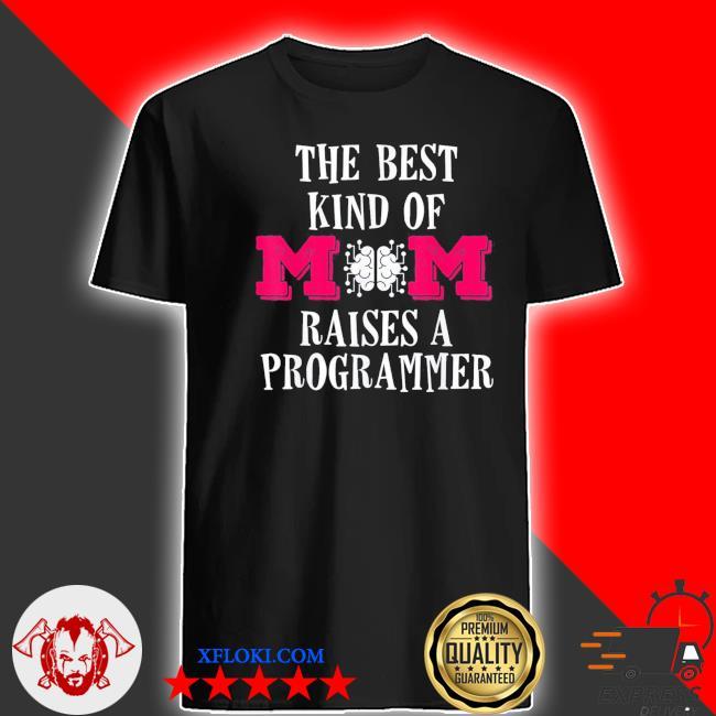 Programmer mom coder mother's day shirt