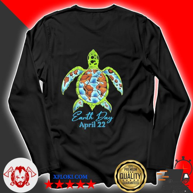 Sea turtle planet love world environment earth day new 2021 s longsleeve