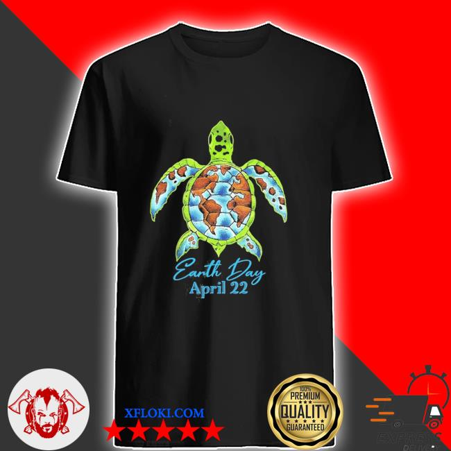 Sea turtle planet love world environment earth day new 2021 shirt