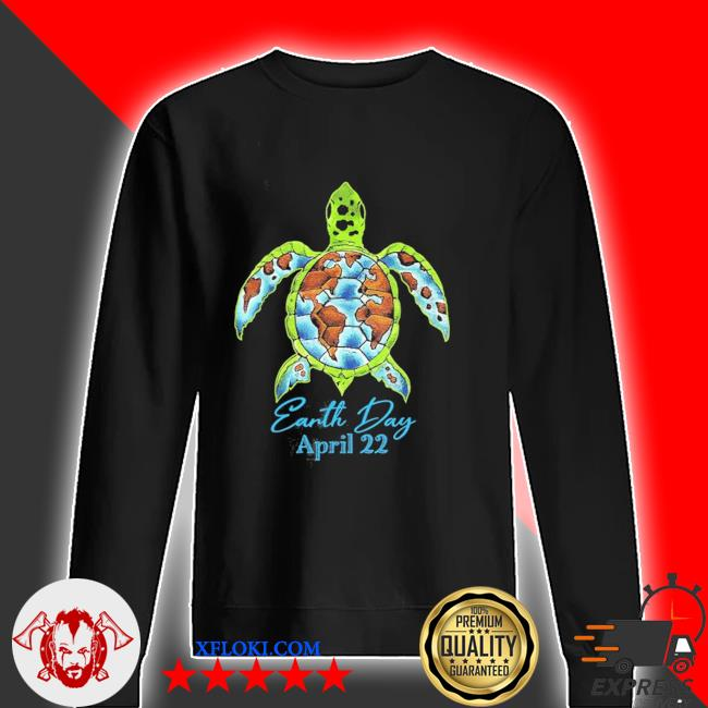 Sea turtle planet love world environment earth day new 2021 s sweater