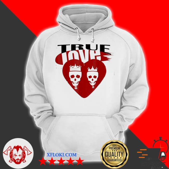 skullcap True love s hoodie