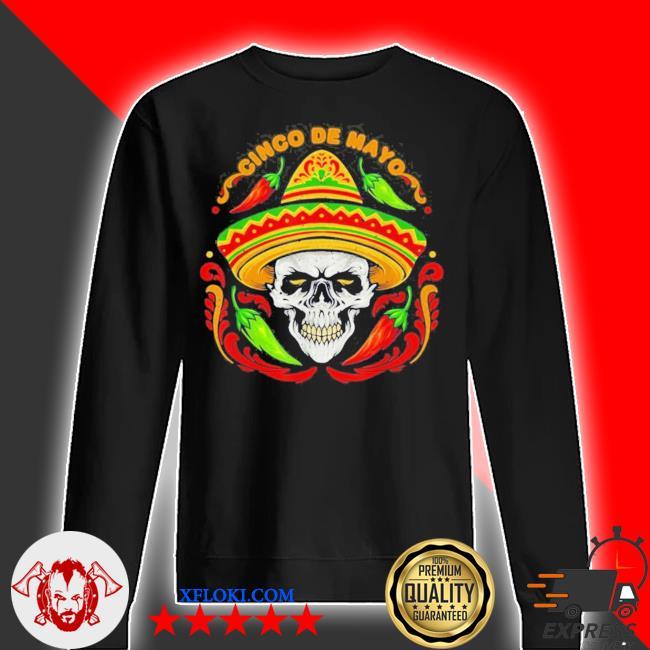 Sugar Skull Cinco de Mayo new 2021 Shirt, sweater