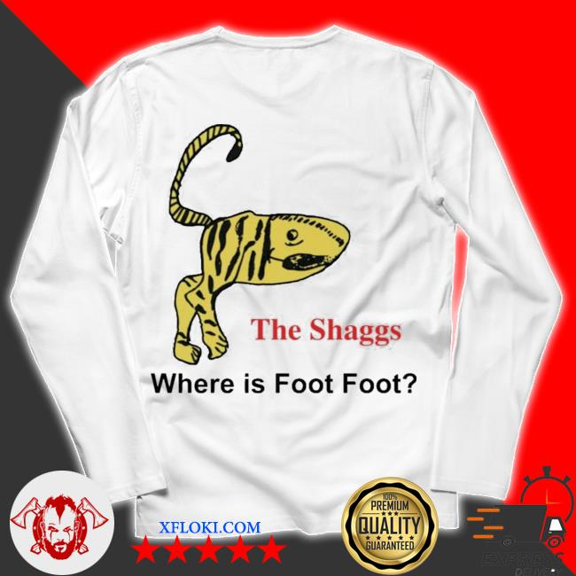 The shaggs where is foot foot new 2021 s unisex longsleeve