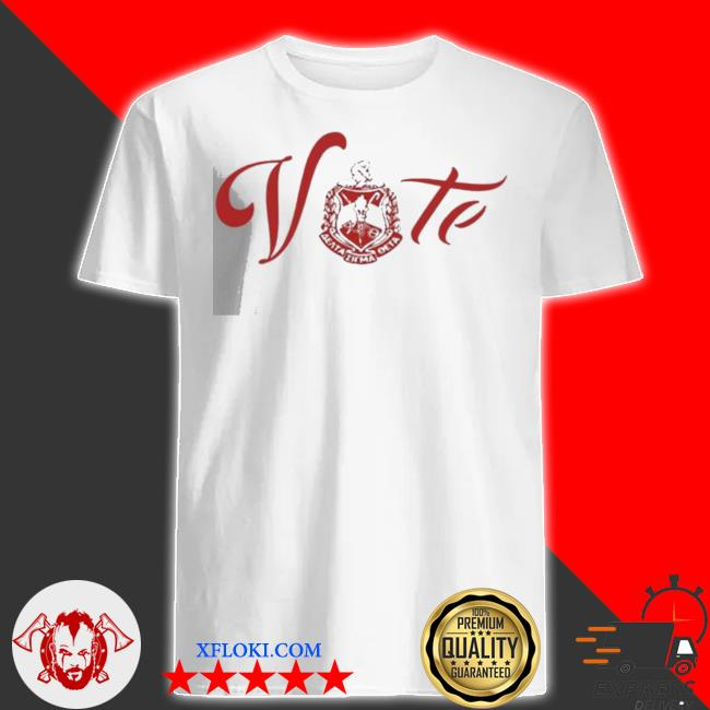 Vote delta sigma theta new 2021 shirt