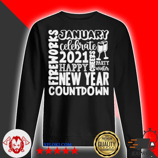 2021 happy new year cheers celebrate celebrate new year 2021 gifts s sweater