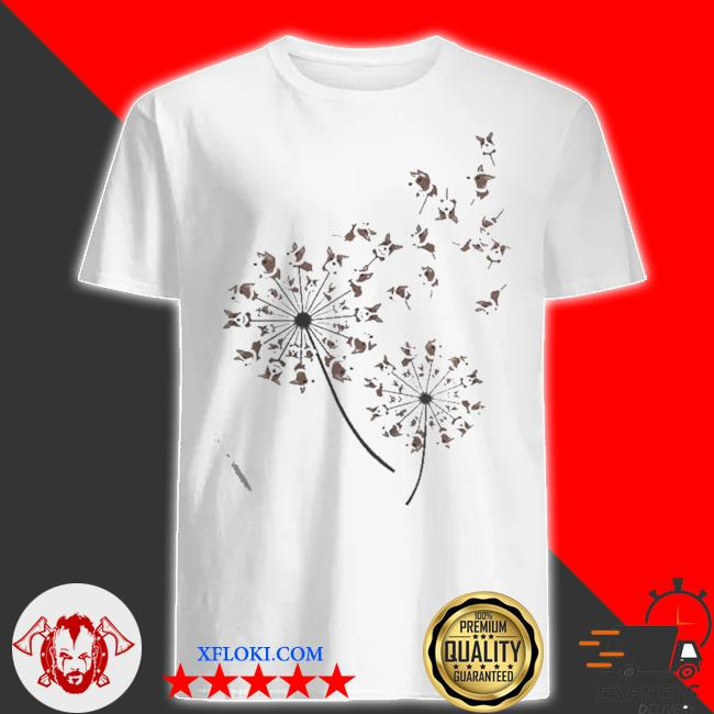 Awesome corgI dandelion flower shirt