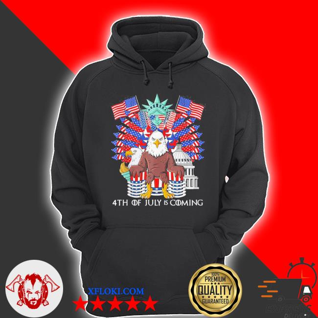 Bald eagle throne 4th of july usa patriotic new 2021 s hoodie