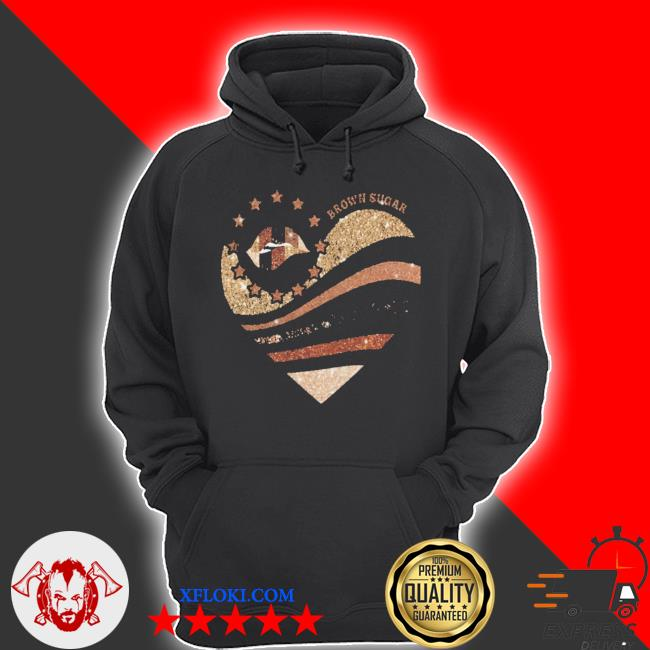 Brown sugar heart diamond s hoodie