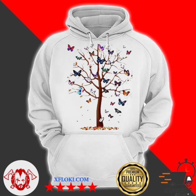 Butterfly tree beautiful s hoodie