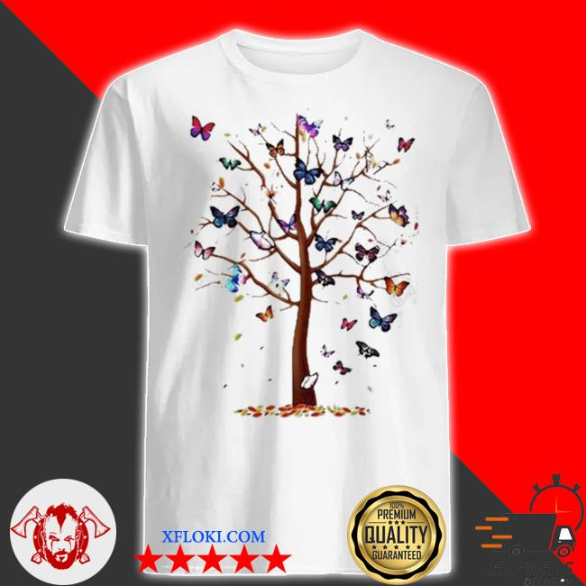 Butterfly tree beautiful shirt