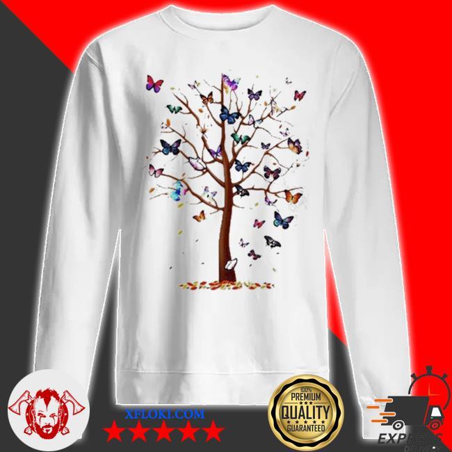Butterfly tree beautiful s sweatshirt
