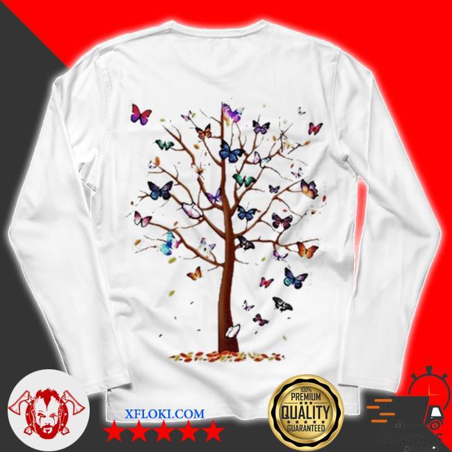 Butterfly tree beautiful s unisex longsleeve