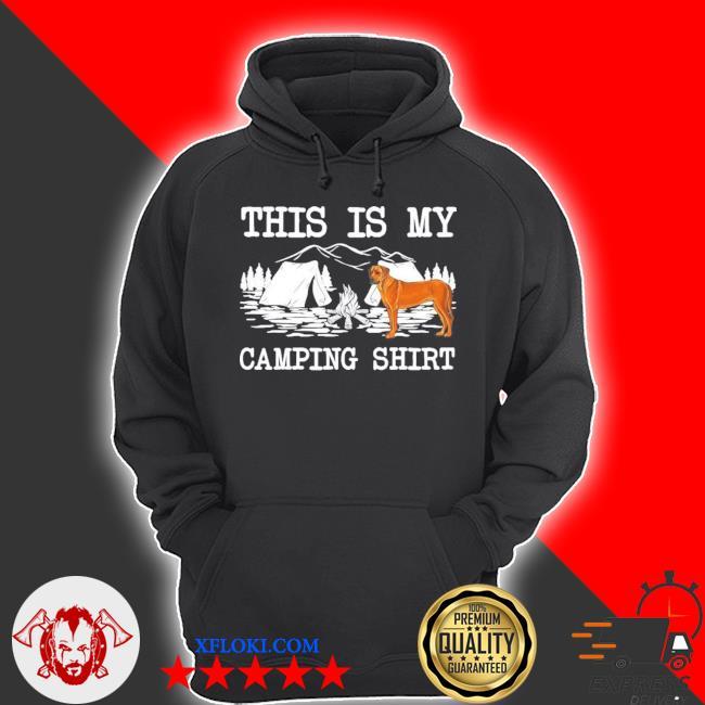 Campfire rhodesian ridgeback dog this is my camping new 2021 s hoodie