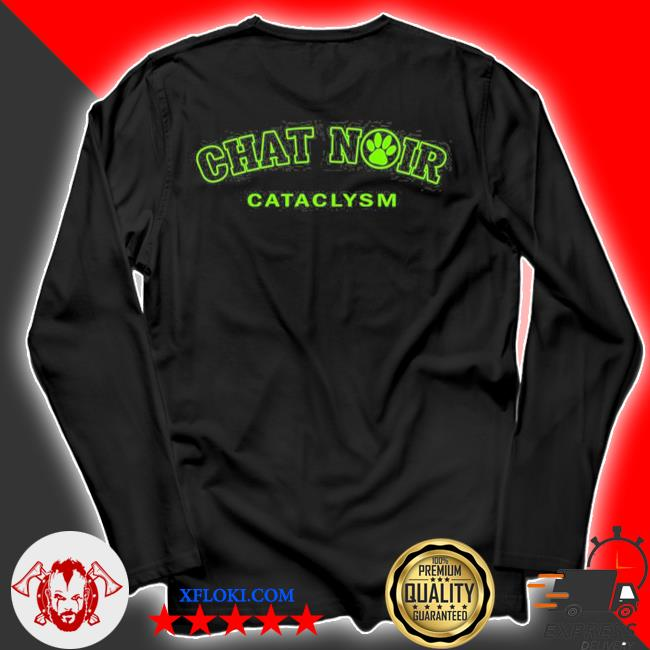 Chat noir cat green version miraculous marI chat adrienette marinette ladybug cataclysm chat noir cat noir s longsleeve