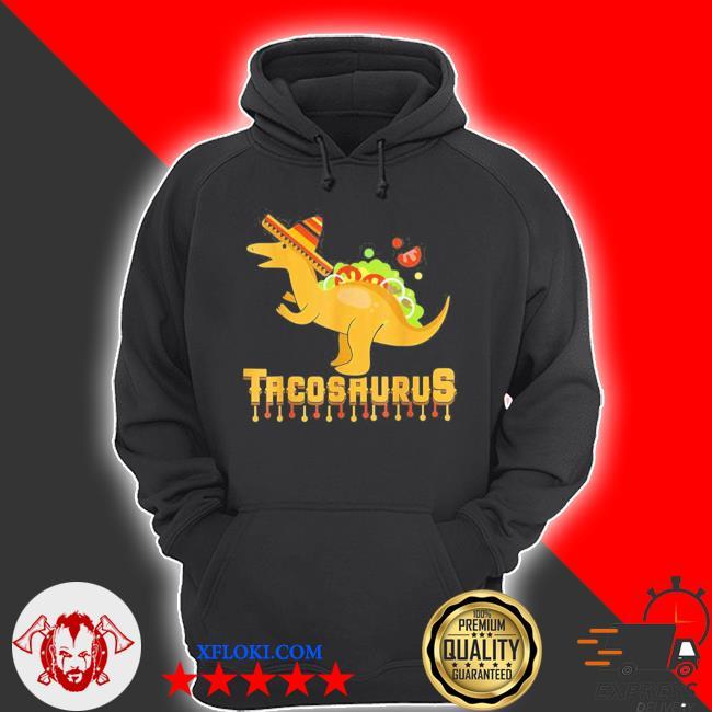 Cinco de mayo tacosaurus tacos dinosaur kids new 2021 s hoodie