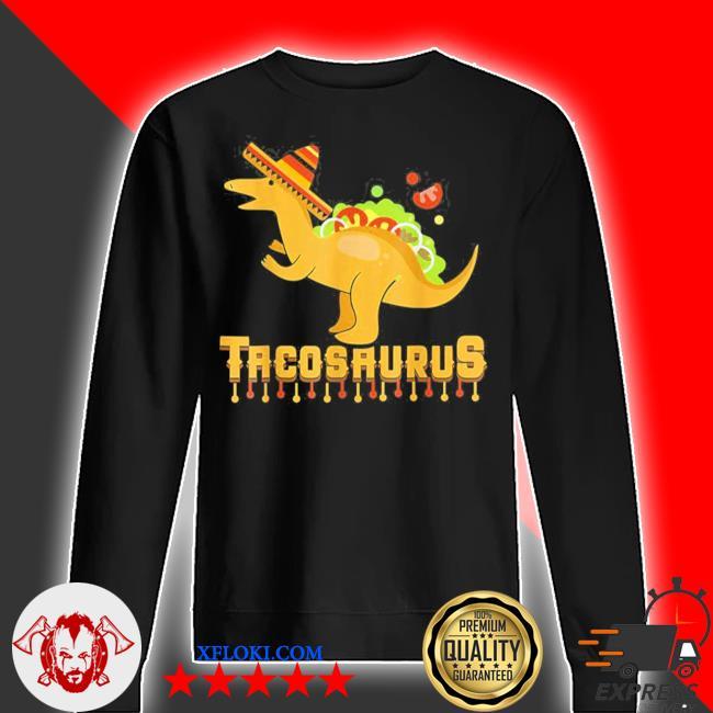 Cinco de mayo tacosaurus tacos dinosaur kids new 2021 s sweater