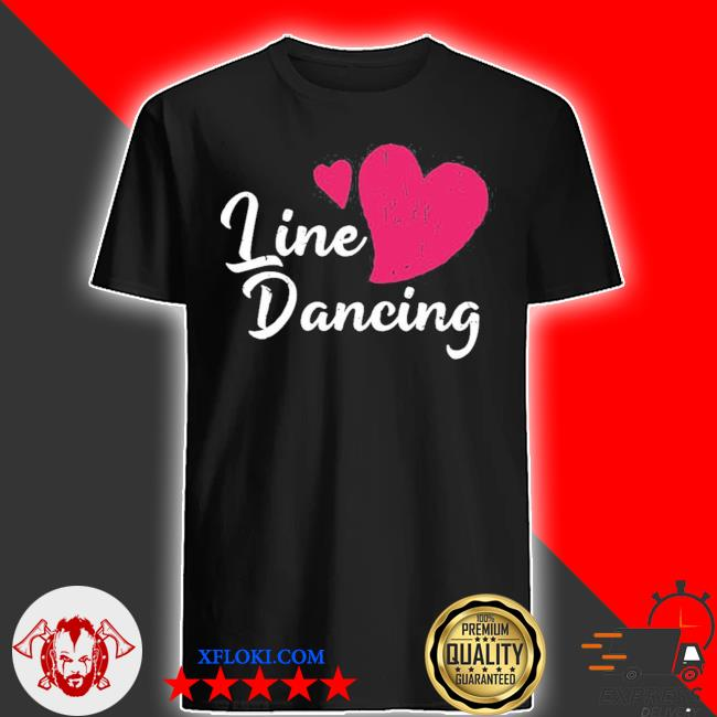 Cowboy line dancing rodeo line dance shirt