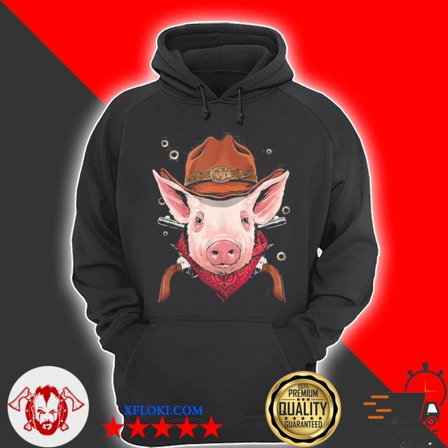 Cowboy pig western rodeo cowboy hat and bandana new 2021 s hoodie