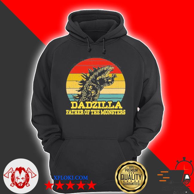 Dadzilla father of the monsters fathers day sunset s hoodie