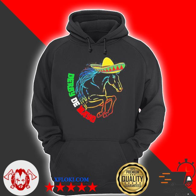 Derby de mayo Kentucky horse race Mexico new 2021 s hoodie