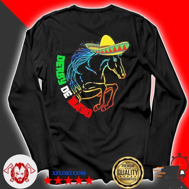 Derby de mayo Kentucky horse race Mexico new 2021 s longsleeve